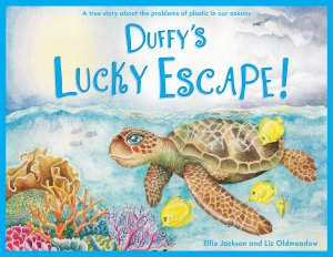 Duffy's Lucky Escape children's book