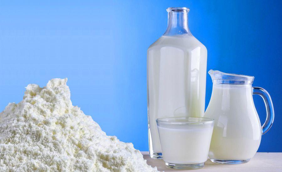 La leche en polvo es un alimento con muchas proteínas