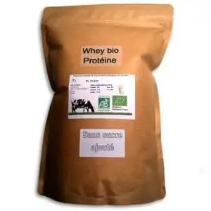 Whey Protéine Bio Eggnergy