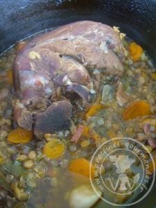 Recette Jarret De Porc Aux Lentilles : recette, jarret, lentilles, Jarret, Lentilles, Protéines-Gourmandes