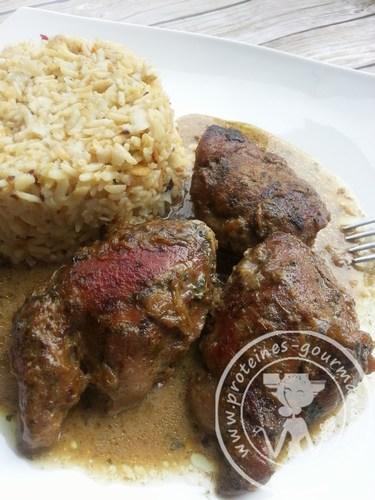 Recette Sot L'y Laisse De Dinde Curry Coco : recette, laisse, dinde, curry, Laisse, Protéines-Gourmandes