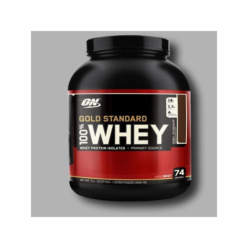Optimum Nutrition Gold Standard Whey 100% 2270g Protein ...