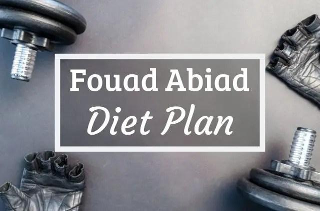 Fouad Abiad Diet