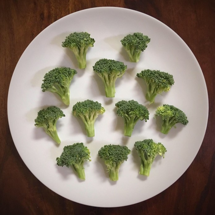 Fresh Broccoli Prep for Steaming
