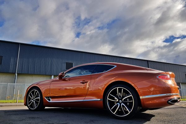 Orange Flame Bentley Continental W12 2018 (7)
