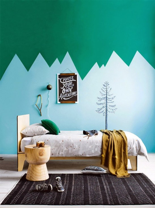 5 Great Kid's Bedroom Paint Ideas