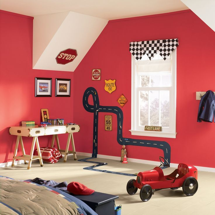 Ready to try fun new paint color in your home? Here are 5 places where we've seen red paint create an inspired look that's worth emulating.