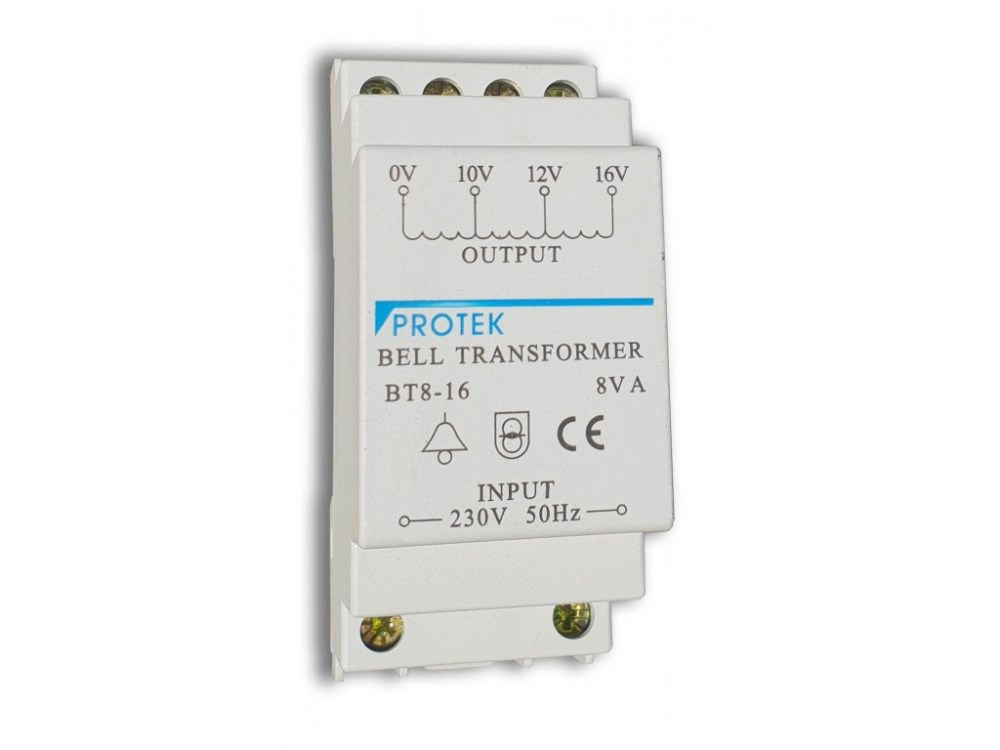 medium resolution of 16v 8va 2 module bell transformer bt8 16
