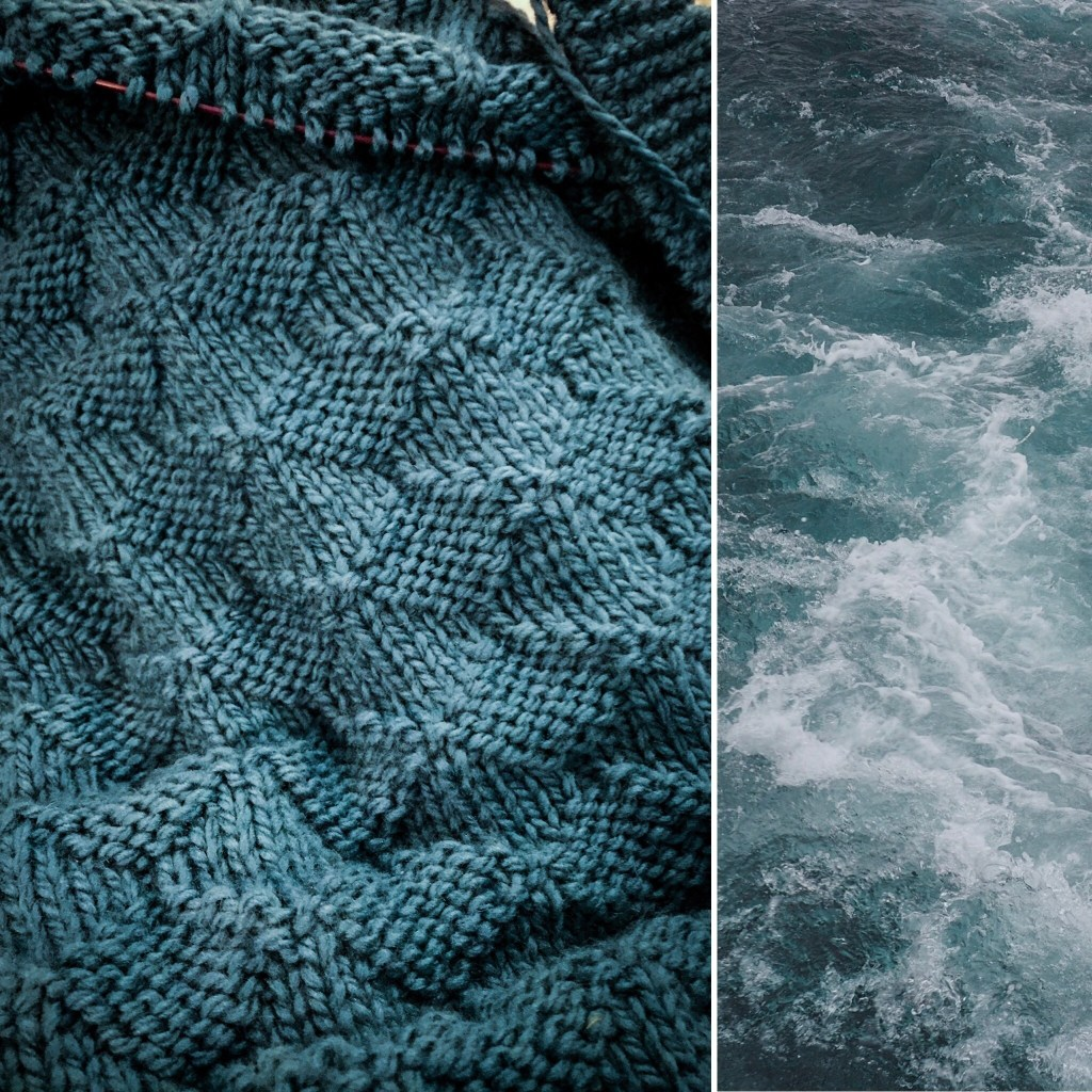 Nautilus-Knit-Along: Pacific Ocean Blanket