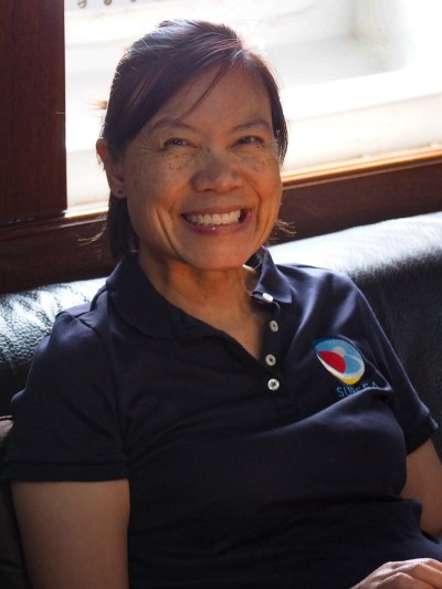 Dr. Darlene Lim is the principle investigator for this NASA SUBSEA project; she's based at the NASA Ames Research Center where she is actively involved in the development of operational concepts for human scientific exploration of our solar system. Image Credit: Jenny Woodman