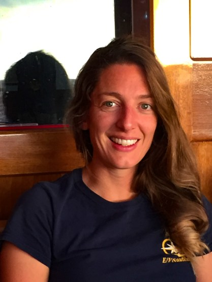 Dr. Leigh Marsh is a deep sea ecologist who specializes in the acquisition, processing, and analysis of ROV and AUV imagery and remote sensing data for vulnerable ecosystems in the deep ocean. Image Credit: Jenny Woodman