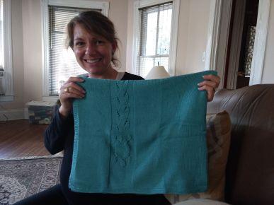 A blanket for Dr. Amber Hale. Image Credit: Amber Hale
