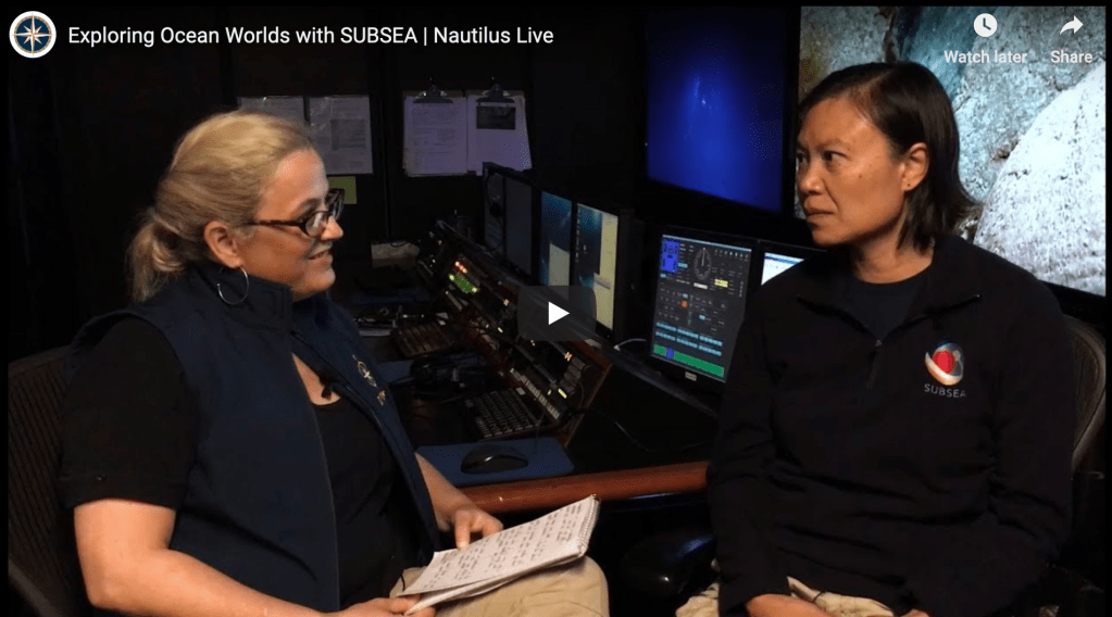 Exploring Ocean Worlds with SUBSEA