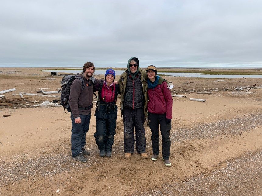Three visitors to Cooper Island Arctic Observatory see firsthand how rapidly changes are taking place.