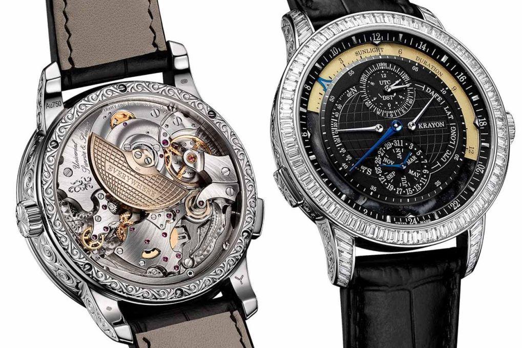 Krayon klokke med urverk, Dyr klokke - hva gjør egentlig en klokke kostbar