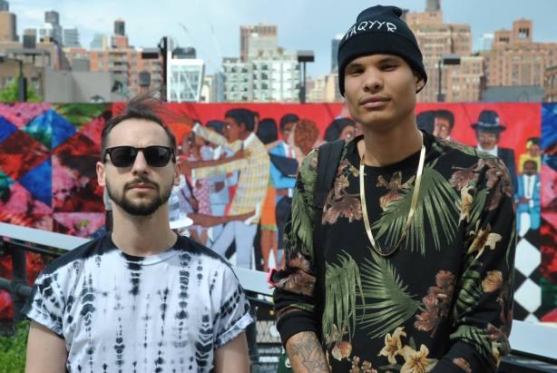 New York street fashion photography Chelsea High line