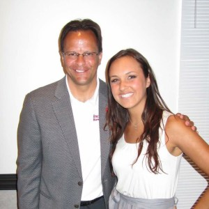Jordan loves the IU Hoosiers, so here she is with Tom Crean