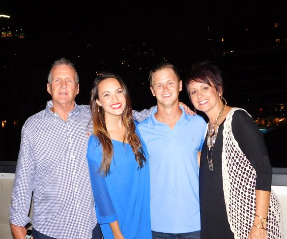 Here's Jordan with her family!