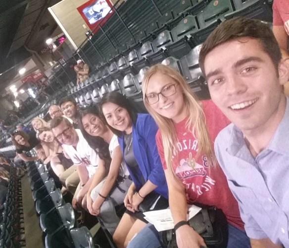 Phoenix celebrated at a Diamondbacks Baseball Game