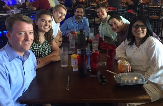 Welcome Prunch (Protiviti Lunch) with our Kansas City Interns