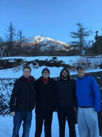 Pictured above is Jonathan and his friend/Protiviti Senior Consultant Kunal climbing Mt. Fuji
