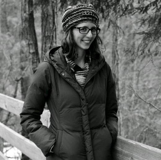 Pictured above is Lauren hiking in the Georgia Mountains this past winter