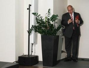 Conferencia del ministro alemán