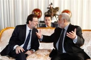El Presidente Rajoy y el traductor