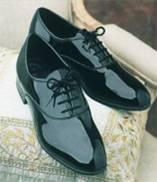 Zapatos de charol con cordones