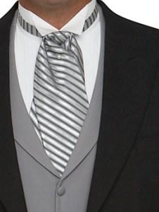 Corbata de plastrón