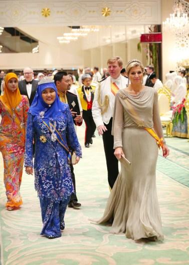 Máxima Zorreguita en Brunei