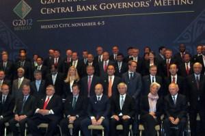 Gobernadores de bancos centrales en México