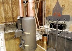 La estufa utilizada en 2005