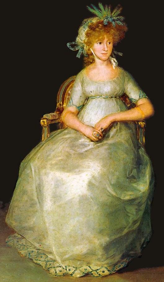 1800 Goya: Condesa de Chinchón