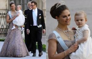 Las princesas Victoria y Estelle