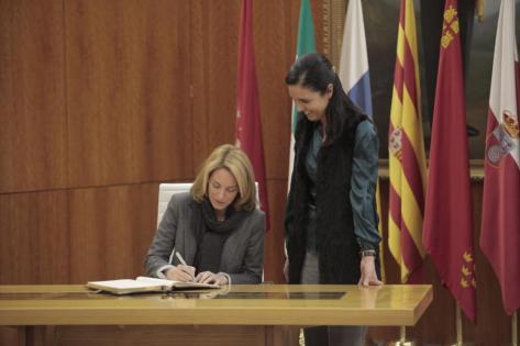 Presidenta Parlamento Navarra