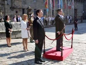 Alcalde de Santiago representando al rey