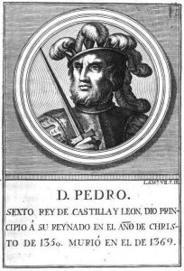 Rey de Castilla-León Pedro I