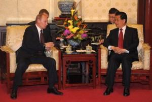 Putin y Jintao