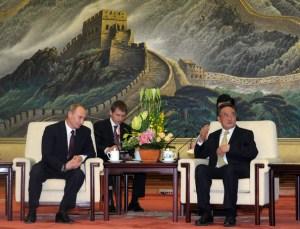 Putin y Wu Bangguo