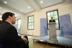 tarima para Christine Lagarde