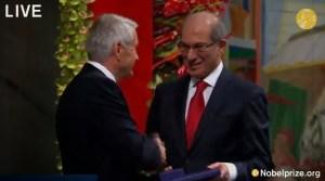 Entrega del Premio Nobel de la Paz 2013