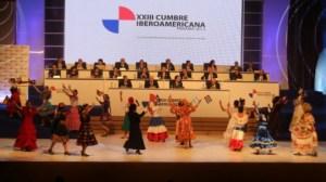 Danilo-Medina-asiste-a-inauguración-de-XXIII-Cumbre-Iberoamericana-Panamá-2013