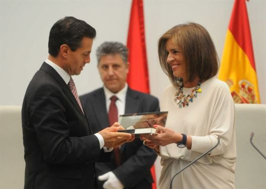LLaves de oro de Madrid con Ana Botella