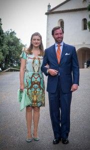 Los príncipes de Luxemburgo, Guillermo y Stéphanie