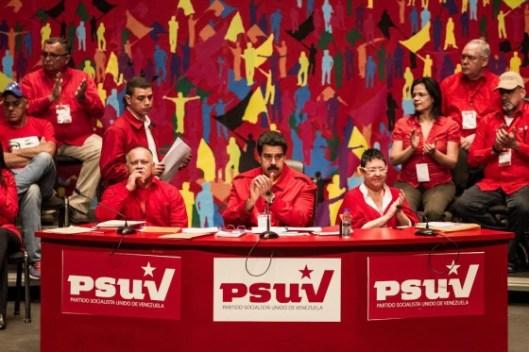 Maduro en el congreo del PSUV