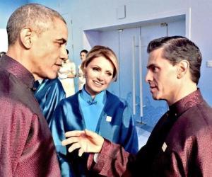 APEC 2014 Peña Nieto y Obama