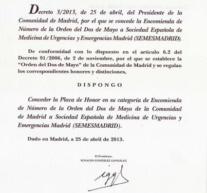 decreto 2demayo