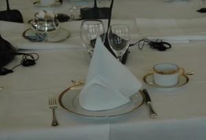 Puesto de mesa desayuno en Comisión Europea 2