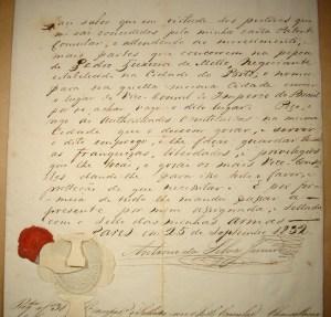 Carta patente de Pedro de Texeira